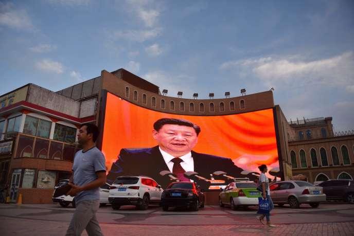 A Kashgar (Chine), le 4 juin.