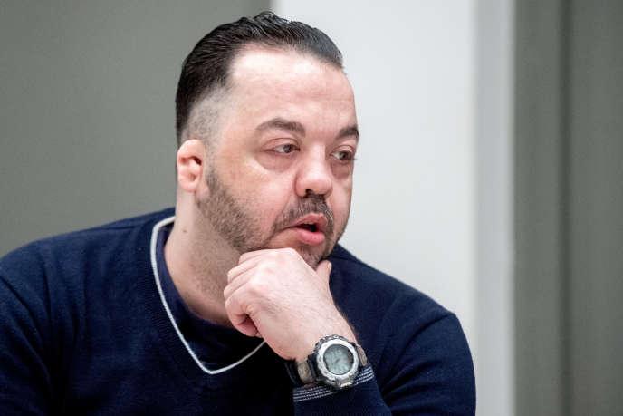Niels Hoegel, lors de son procès à Oldenbourg, en Allemagne, le 6 juin 2019.