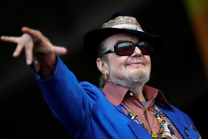 Dr. John au New Orleans Jazz and Heritage Festival, à LaNouvelle-Orléans, enLouisiane, le 26 avril 2013.
