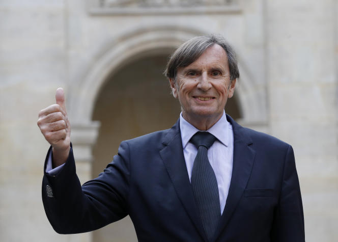 Daniel Rondeau, à Paris, le 26 octobre 2017.