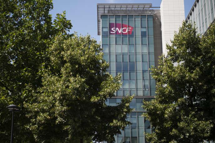 Siège de la SNCF à Saint-Denis, près de Paris, le 15 juillet 2015.