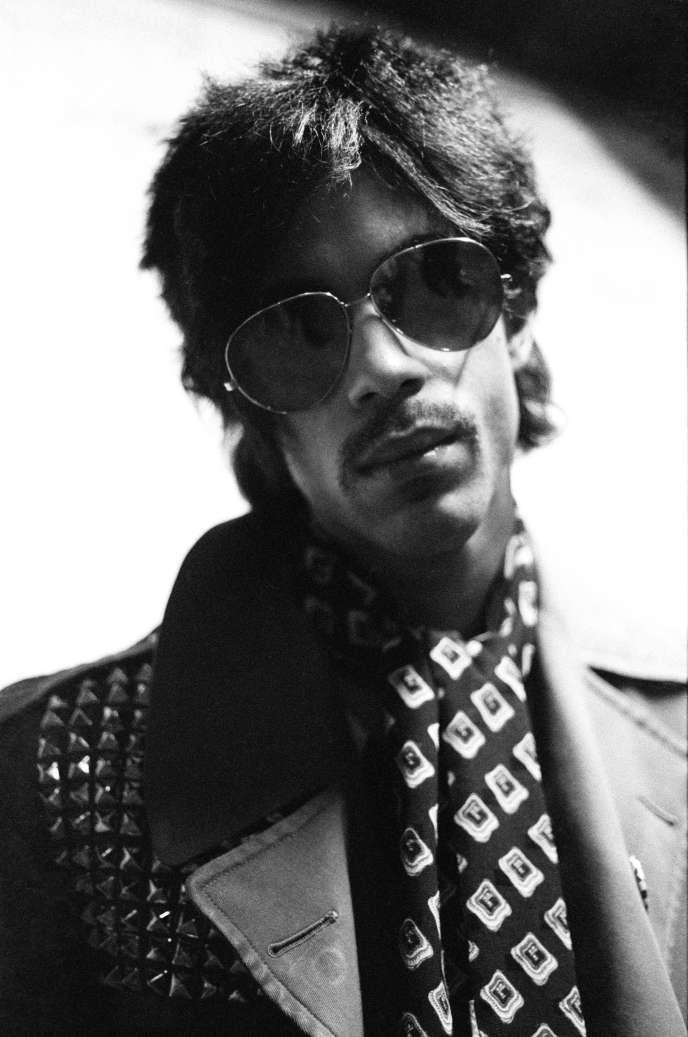 Prince à Amsterdam, le 29 mai 1981.