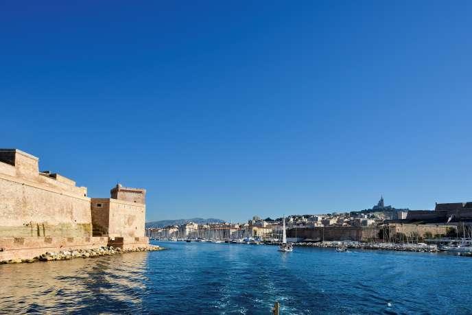 Fort Saint-jean. Vieux Port. Marseille.