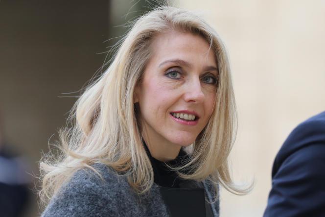 La présidente de Radio France, Sibyle Veil, à Paris, le 18 mars.
