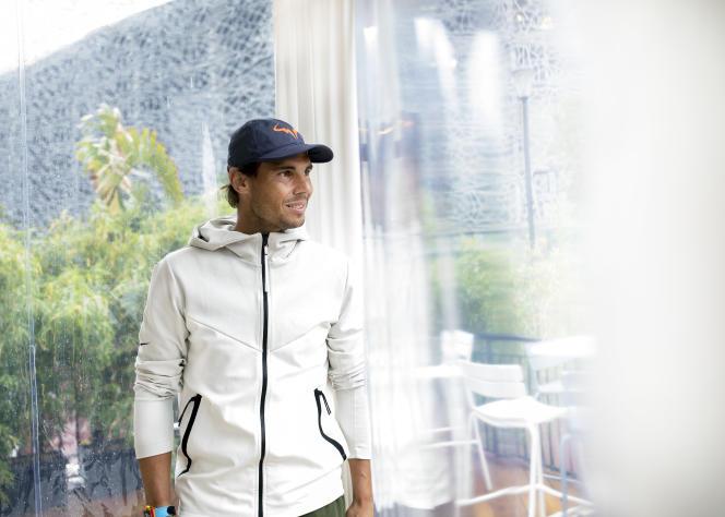 Rafael Nadal à Roland-Garros, le 5 juin.