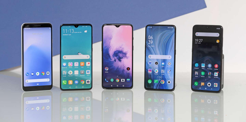 On a testé… les meilleurs smartphones à 500 euros