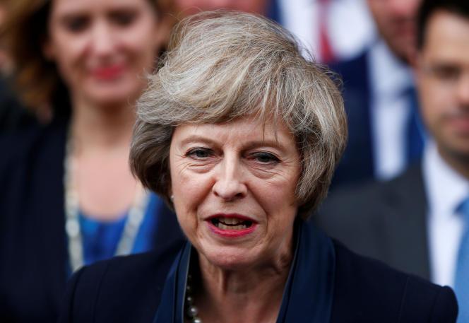 Theresa May, en juillet 2016 à Londres.