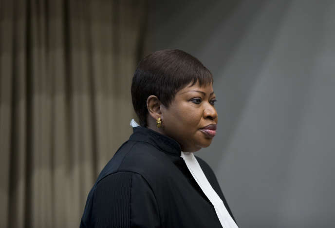 La procureure de la Cour pénale internationale, Fatou Bensouda, en 2016 à La Haye.