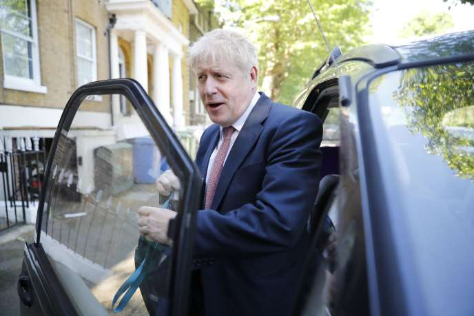 Boris Johnson à Londres (Royaume-Uni), le 30 mai.