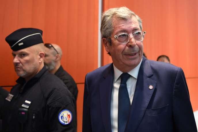 Patrick Balkany, au Tribunal de Paris, le 20 mai.