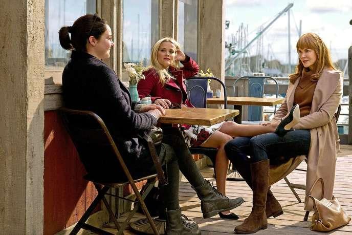 Shailene Woodley, Reese Witherspoon et Nicole Kidman dans la série «Big Little Lies».