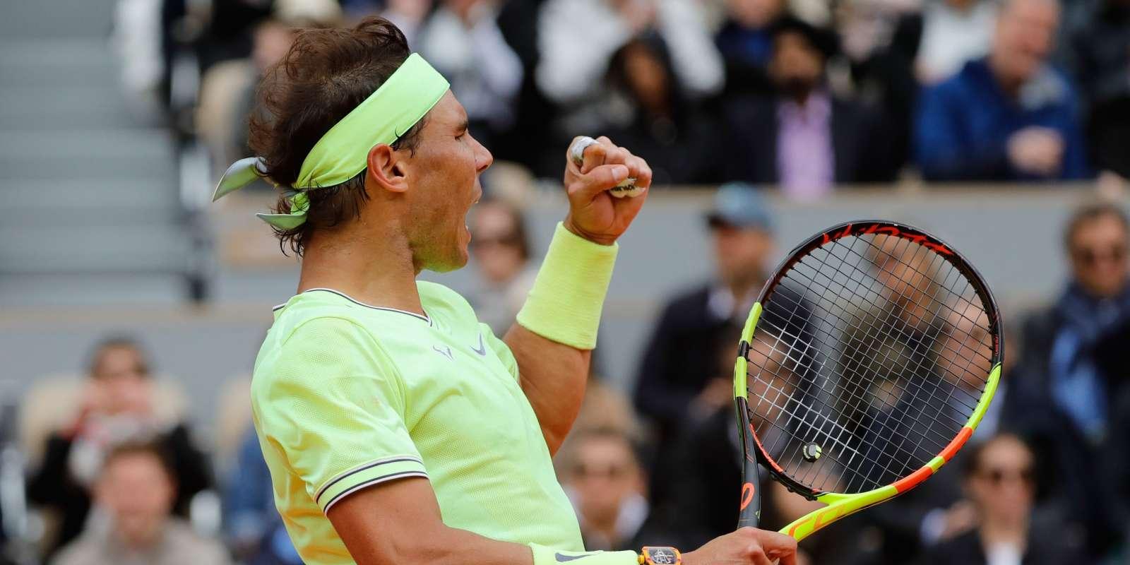 Rafael Nadal s'est qualifié pour sa douzième finale à Roland-Garros.