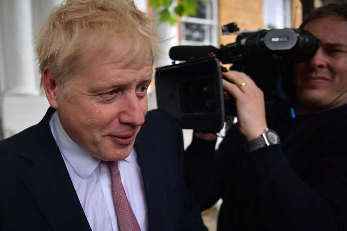 Boris Johnson à Londres (Royaume-Uni), le 7 juin.