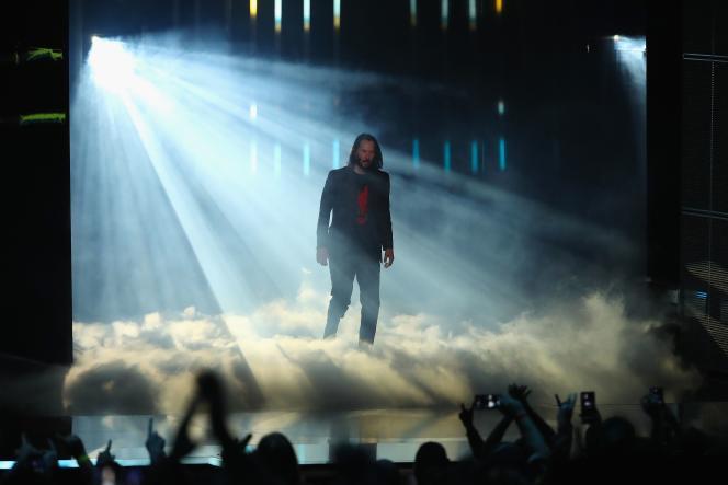 Keanu Reeves vient présenter «Cyberpunk 2077».