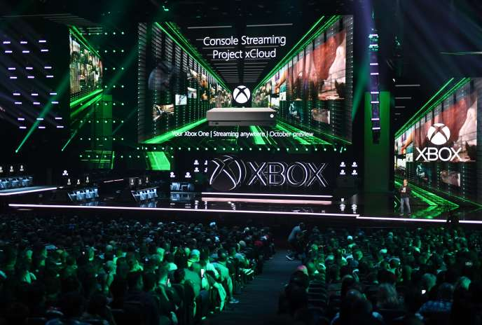 Présentation du «Projet Scarlett» lors de l'E3 2019 à Los Angeles (Californie), le 9 juin.