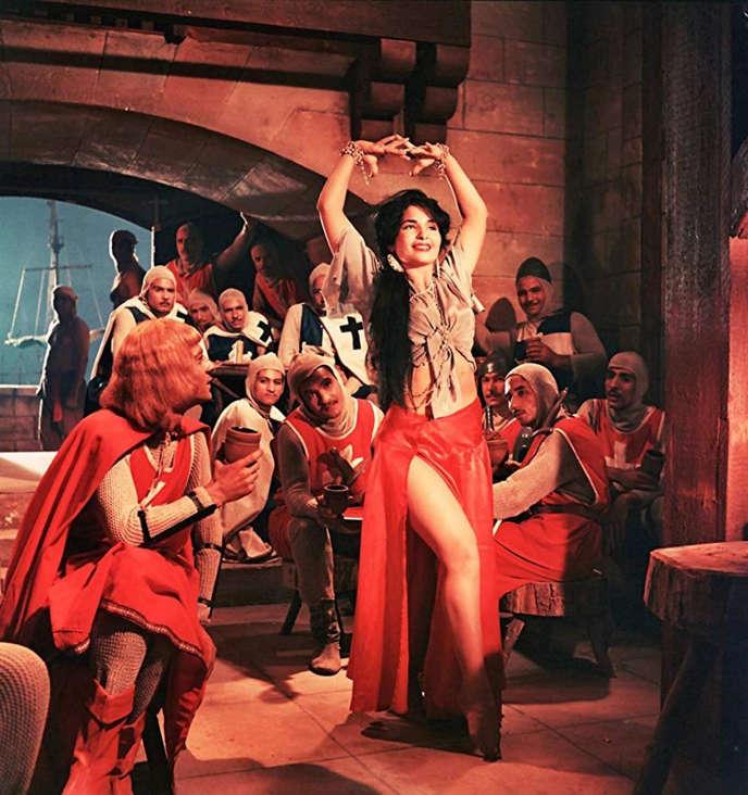 Scène du film« Saladin» (1963), de Youssef Chahine.