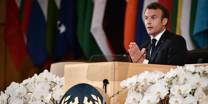 A Genève, Macron dénonce les dérives d'un « capitalisme devenu fou »