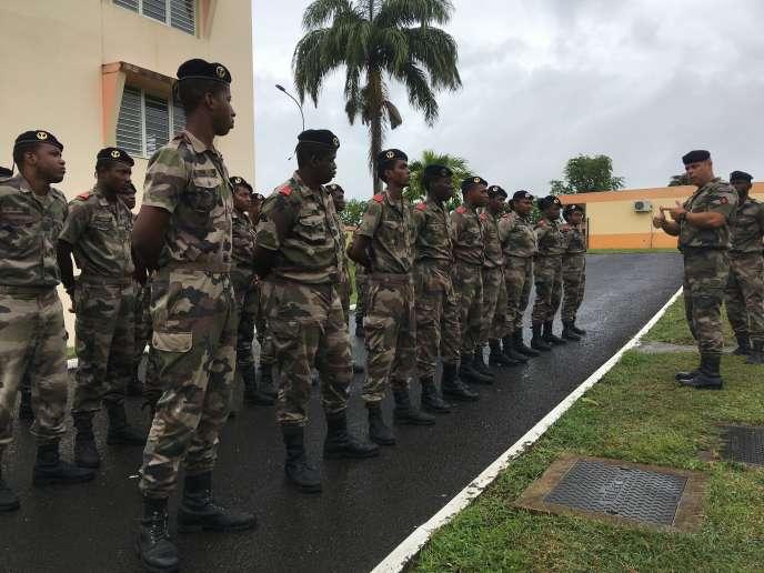 Régiment du service militaire adapté (RSMA) de Guadeloupe.