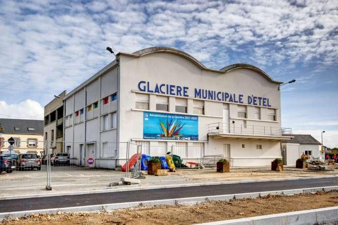La glacière municipale d'Etel (Morbihan) a été construite en 1946.