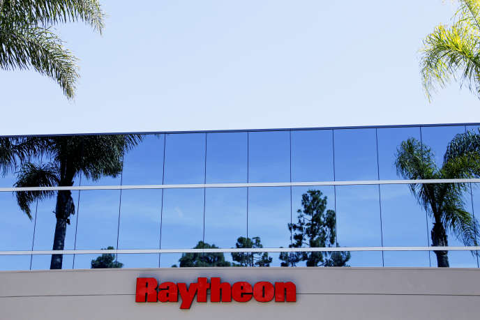 Des bureaux de Raytheon à San Diego, en Californie, le 10 juin.