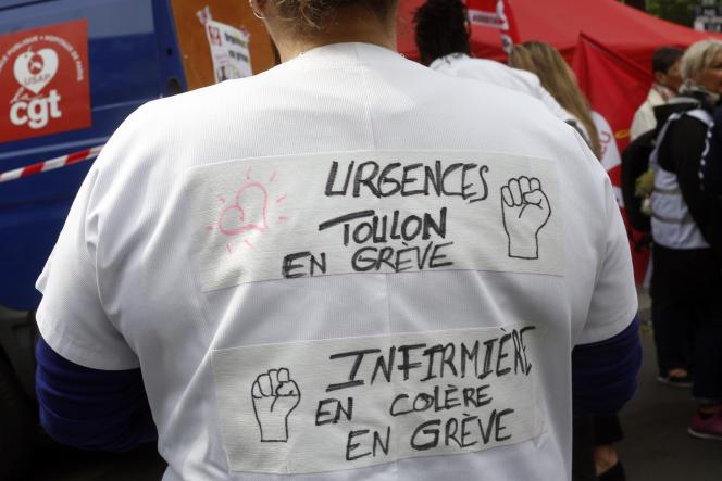 Près de la moitié des hôpitaux publics dotés d'une structure d'urgence sont en grève vendredi 16 août.