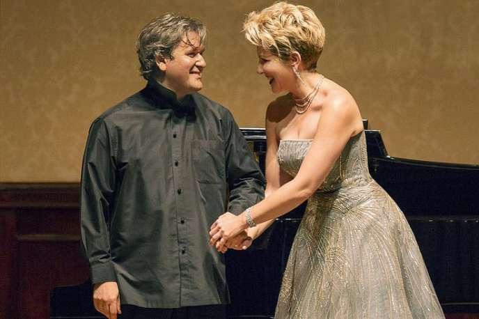 Le chef d'orchestreAntonio Pappano et la mezzo Joyce DiDonato.