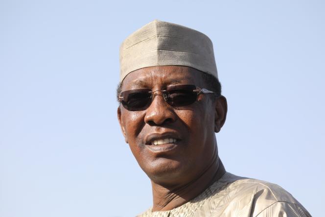 Le président tchadien Idriss Déby, à N'Djamena le 22 décembre 2018.