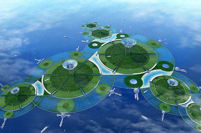 Avec Green Float, Shimizua choisi de se concentrer sur le potentiel des vastes étendues maritimes, qui couvrent 70% de la surface de la Terre