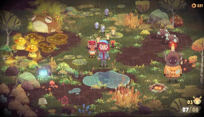 Un mélange entre «Pikmin» et une direction artistique qui évoque l'univers des jeux Double Fine.