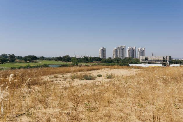 Le golf de Césarée, unique terrain de golf en Israël, le 29 mai.