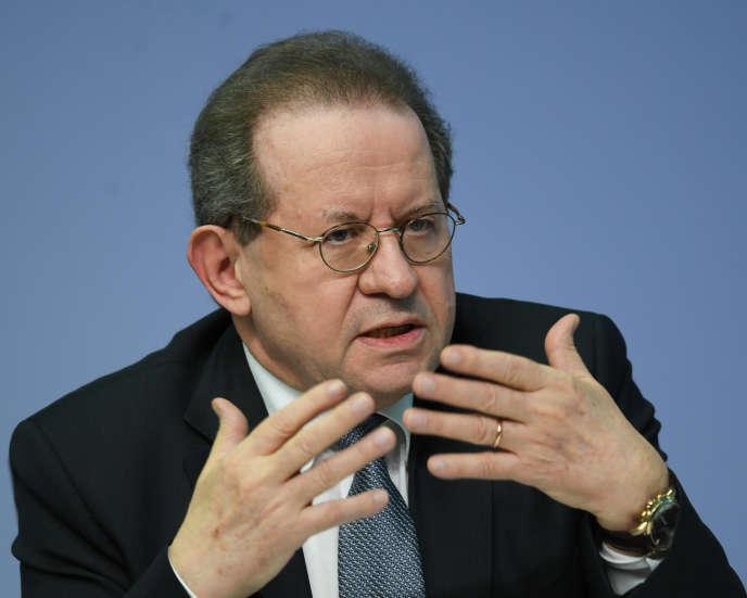 L'ancien vice-président de la Banque centrale européenne (BCE), Vitor Constancio, àFrancfort (ouest de l'Allemagne), en avril 2018.