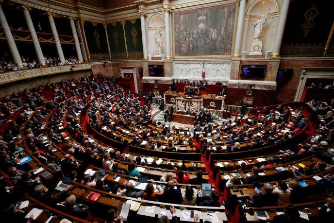 A l'Assemblée nationale le 12juin.