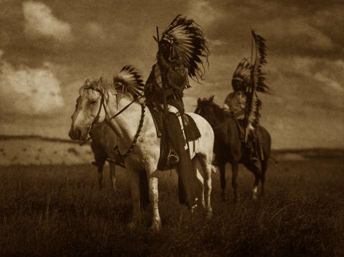Des chefs sioux.