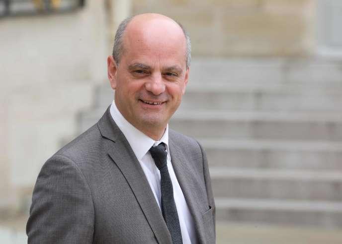 Le ministre de l'éducation nationale Jean-Michel Blanquer, à l'Elysée, le 12 juin.