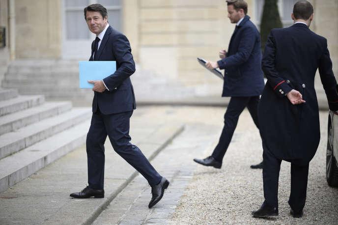 Le maire LR de Nice, Christian Estrosi, le 4 avril, à l'Elysée.