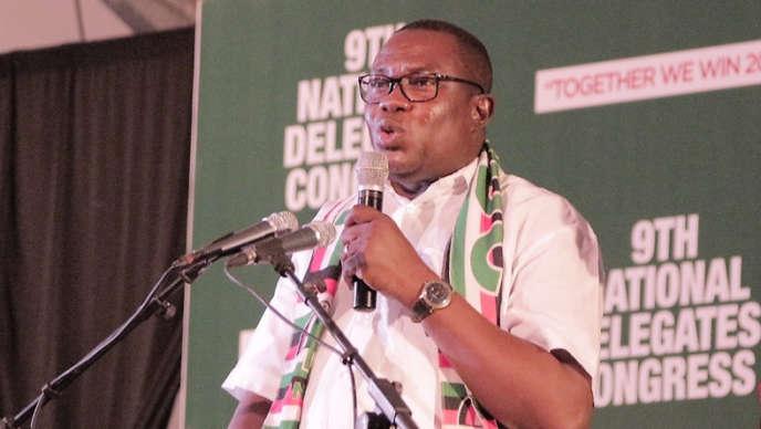 Samuel Ofosu-Ampofo, président du Congrès national démocratique (NDC).