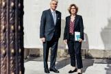 Alain Richard et Marie Guévenoux, le 11 juin 2019, à Paris.