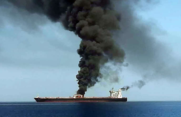 Une image diffuse le 13 juin par le mdia dEtat iranien IRIB