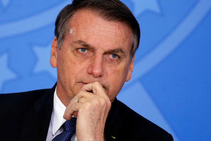 Jair Bolsonaro, le président brésilien, le 13 juin, à Brasilia.
