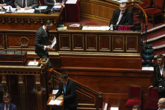Declaration de politique générale d'Edouard Philippe devant le Senat, le 13juin.