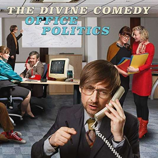 Pochette de l'album «Office Politics», de The Divine Comedy.