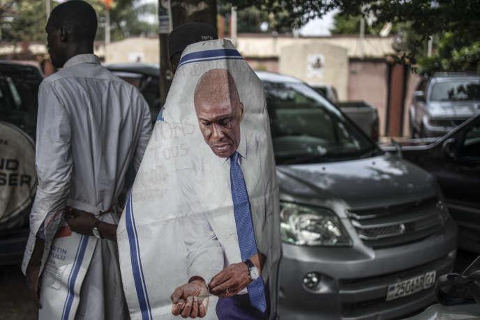 Partisans de Martin Fayulu pendant la campagne électorale congolaise, en décembre 2018.