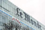 Le siège social du « Monde», 80, rue Auguste-Blanqui, Paris 13e, en 2013.