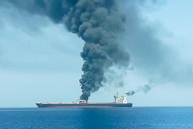 Deux tankers ont été la cible d'attaques, jeudi 13 juin, en mer d'Oman.