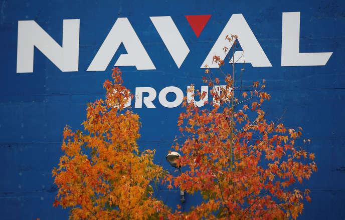 Le groupe industriel français Naval Group, spécialisé dans la fabrication de sous-marins et de navires sur le site de Loire-Atlantique, près de Nantes.