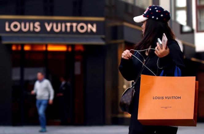 Magasin Louis Vuitton à Vienne (AQutriche), le 4 octobre 2018.