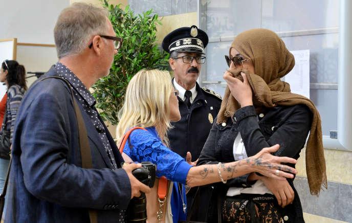 La mère et l'épouse de l'Hispano-Suisse, Kévin Zoller Guervos, prévenu dans l'affaire du double meurtre des touristes scandinaves  décapitées le 17 décembre 2018 dans le Haut-Atlas.