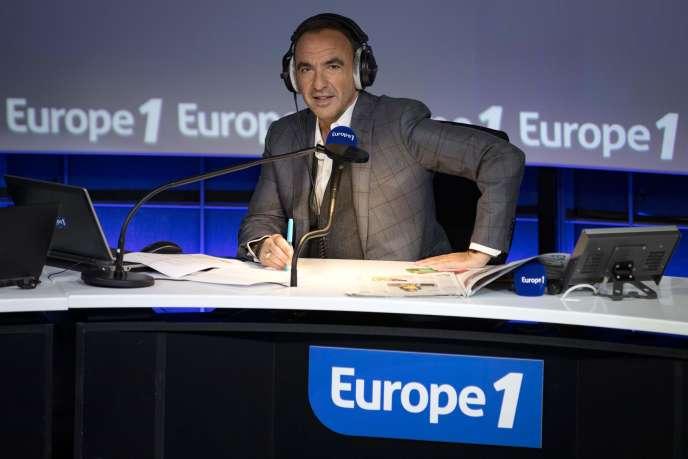 Nikos Aliagas, à Europe1, le 20 décembre.