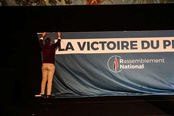 A Paris, lors des élections européennes, le 26 mai.