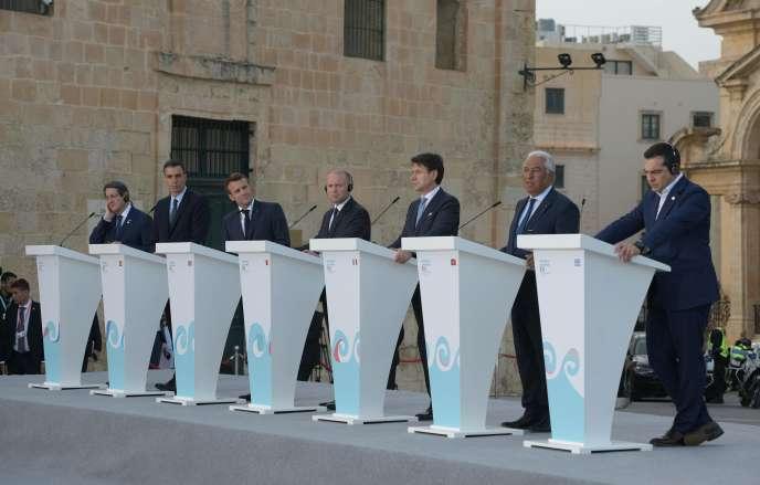 Réunis à Malte, les pays d'Europe du Sud, dont la France, restent en désaccord sur l'accueil des migrants